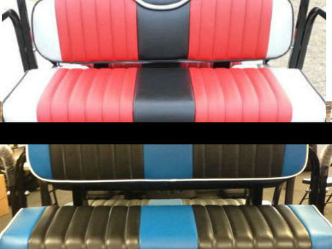 Custom Seats Ultimate (2/3-Tone, Fabric Choice w/ Piping, Stitch Color)