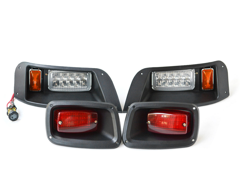 E-Z-GO TXT LED LIGHT KIT - DELUXE HARNESS