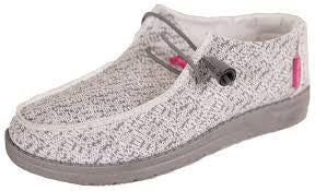 Simply Southern Light Gray Slip-on Shoes