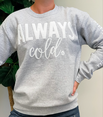 Simply Southern Always Cold Crew Neck
