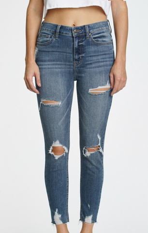 Eunina Vendetta Distressed Jeans