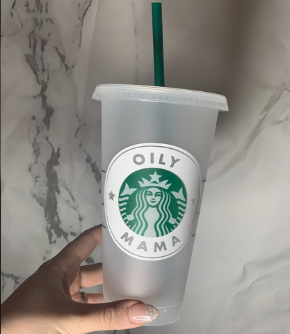 Essential Oils Inspired Starbucks Cold Cup