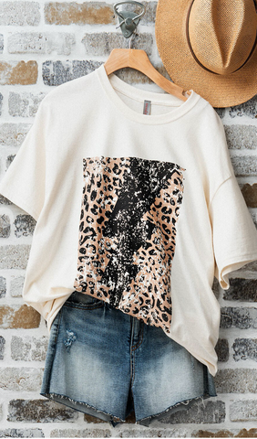 Leopard & Lightning Shirt