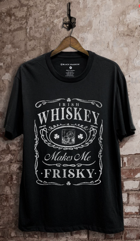 Whiskey Makes Me Frisky Graphic Tee
