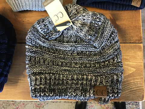 CC Beanie Original Grey/Blue Multi