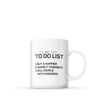 KINDNESS HAMMER MUG