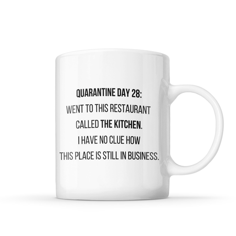 QUARANTINE KITCHEN MUG