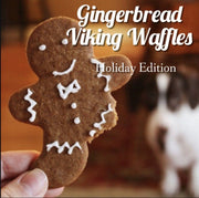 GINGERBREAD PROTEIN WAFFLES -  HOLIDAY EDITION (LIMITED)