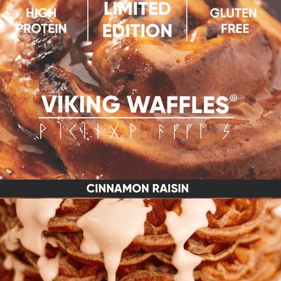 LIMITED CINNAMON RAISIN PROTEIN WAFFLES!
