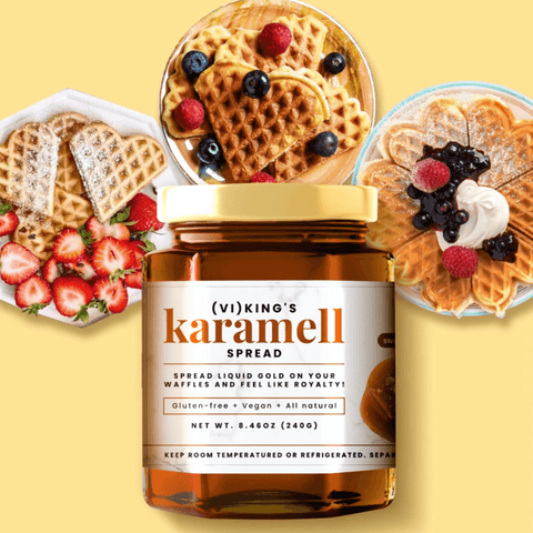 NEW! KARAMELL SPREAD (ONLY 300 JARS)