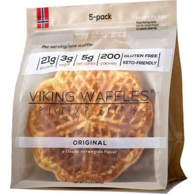 Original Protein Viking Waffles (Keto-Friendly)