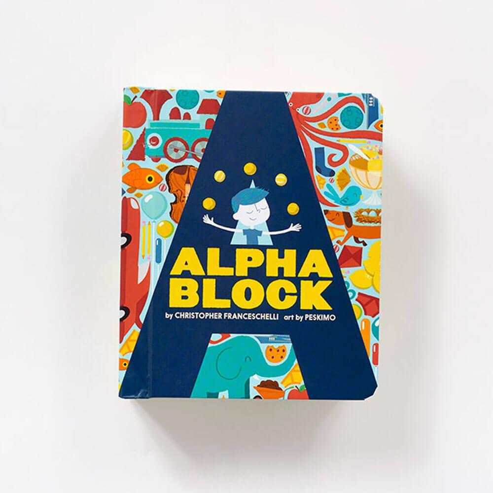 Alphablock Children's Book