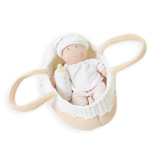 Grace Baby Doll in Carry Cot-Bonikka-Childrens Boutique-The Enchanted Child