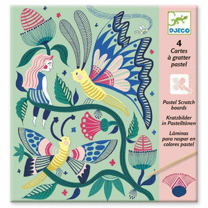 Fantasy Garden Scratch Cards-Djeco-The Enchanted Child