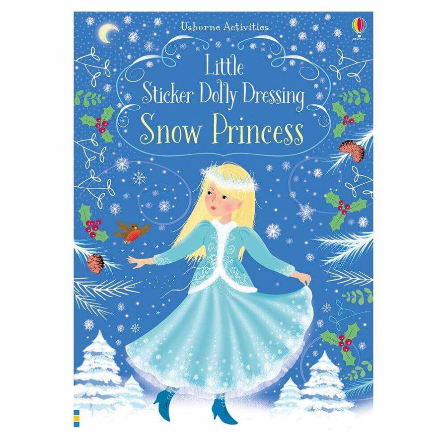 Little Sticker Doll Book: Snow Princess-Usborne-The Enchanted Child