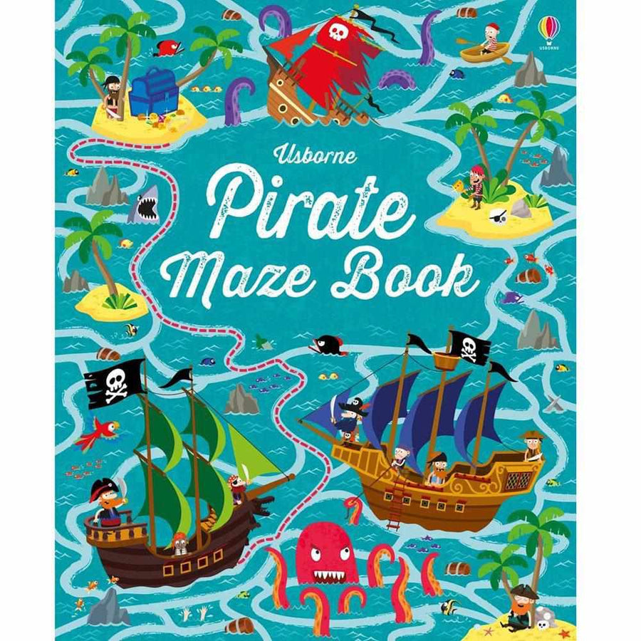 Pirate Maze Book-Usborne-The Enchanted Child
