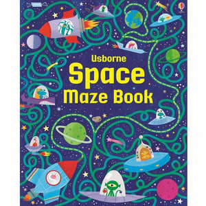 Space Maze Book-Usborne-The Enchanted Child