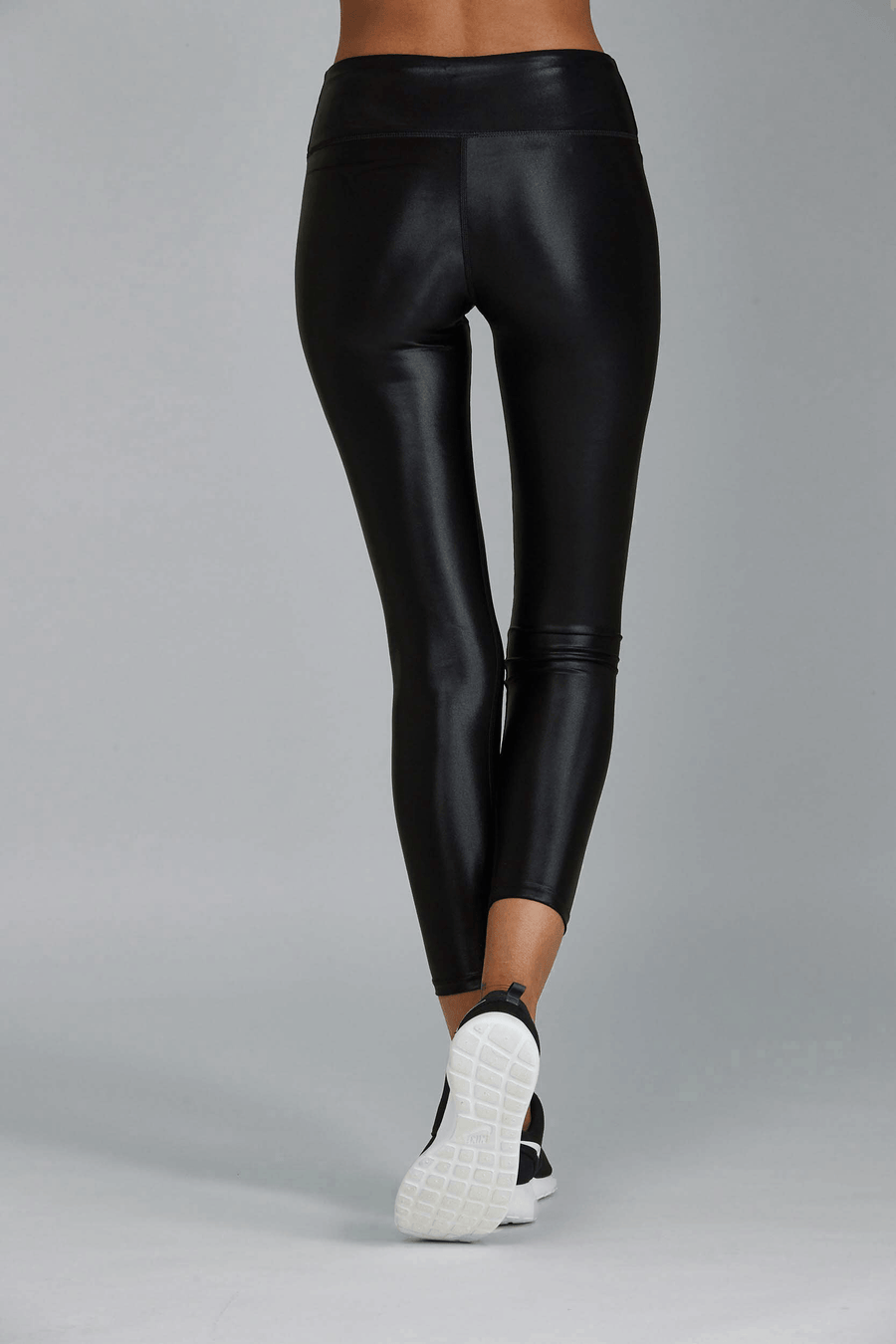 Liquid 7/8 Legging -  Black Gloss