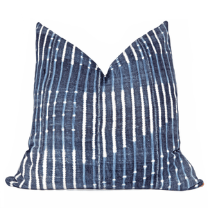 Modern Boho | Burkina Faso Vintage African Indigo Accent Pillowbest decor - HUNTEDFOX
