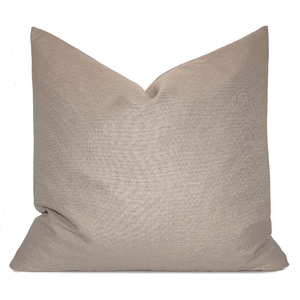 Solid Light Brown Pillowbest decor - HUNTEDFOX