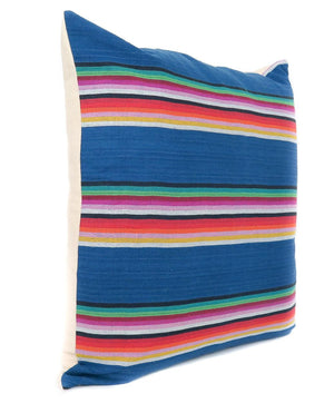 Blue Guatemalan Linen Pillowbest decor - HUNTEDFOX