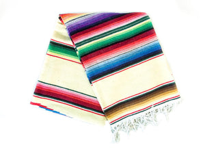 Vintage Saltillo Serape // Pale Yellowbest decor - HUNTEDFOX