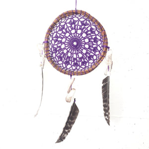 Purple Lace Dreamcatcher II - H U N T E D F O X