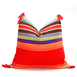Modern Mexican |  Red Fiesta Pillowbest decor - HUNTEDFOX