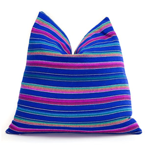 Modern Mexican | Electric Blue Stripesbest decor - HUNTEDFOX