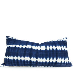 African Indigo King Lumbar Bed Pillowbest decor - HUNTEDFOX