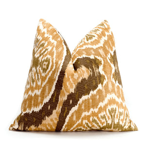 Neutral Ikat Pillowbest decor - HUNTEDFOX