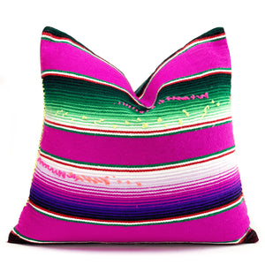 Modern Mexican |  Neon Purple Pillowbest decor - HUNTEDFOX