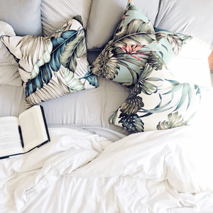 Modern Boho | Tropical Accent Pillows - H U N T E D F O X