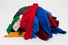 117 ($0.75 lb) COLOR FLEECE SWEATSHIRT WIPING RAGS