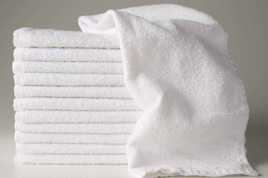 WWT ($2.13 lb) WHOLE WHITE TOWELS REUSABLE WIPING RAGS
