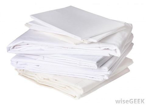 WWS ($1.15 lb) WHOLE WHITE SHEETS REUSABLE WIPING RAGS