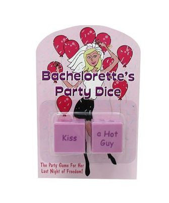 Bachelorette's Party Dice