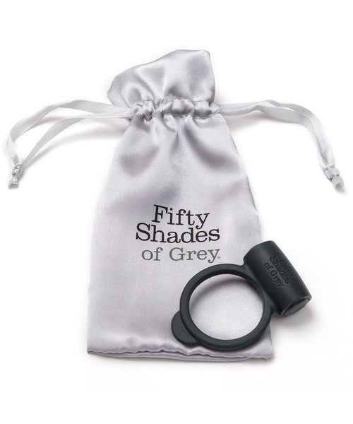Yours and Mine Vibrating Silicone Love Ring