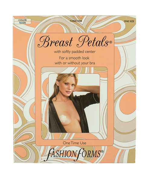 Breast Petals Single-Use Nipple Covers - 3 Pack