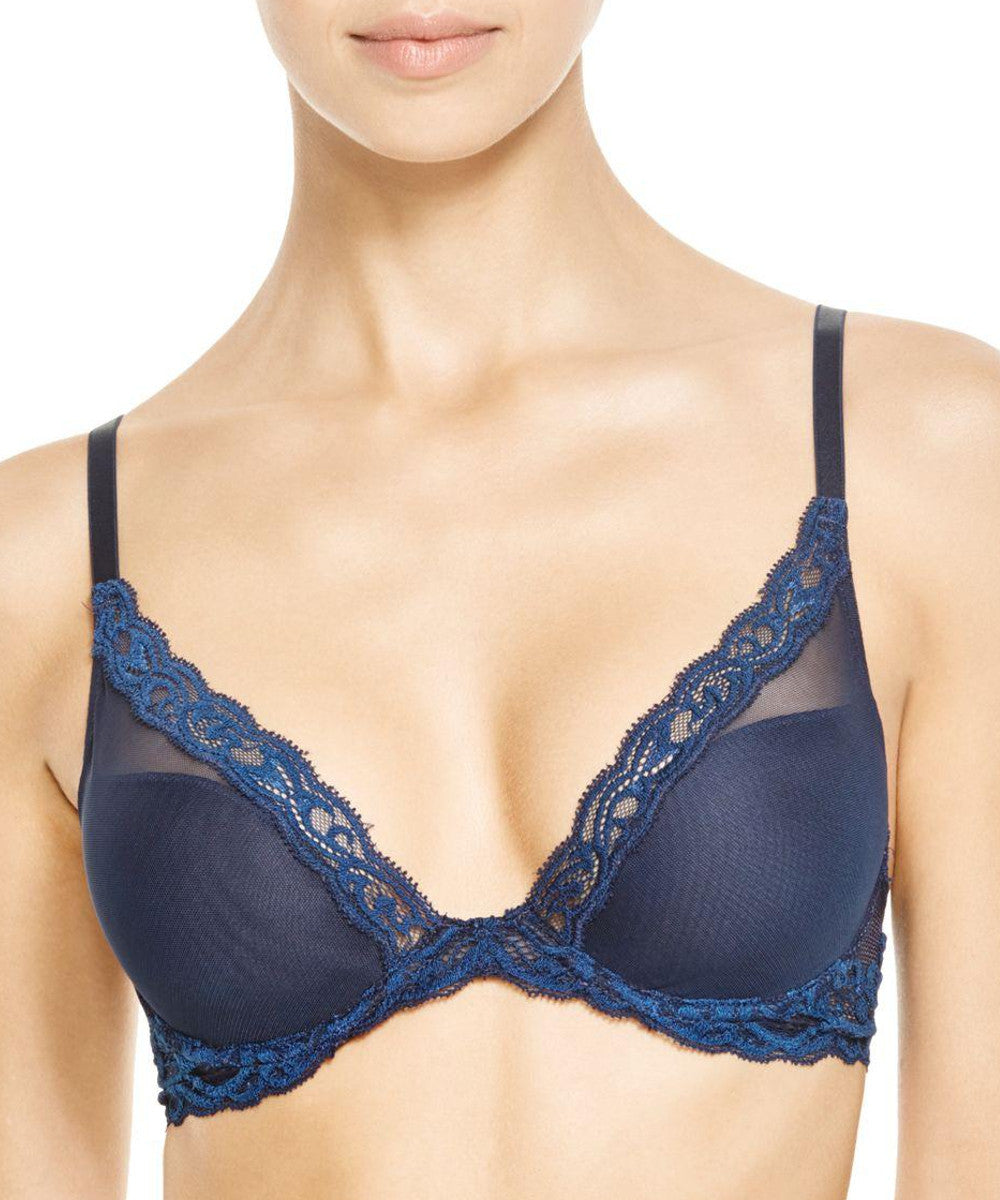 Feathers Contour Bra - Midnight