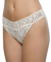 Signature Lace Original Rise Bridal Thong -