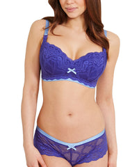 Madeline Maternity Bra - Purpley Blue
