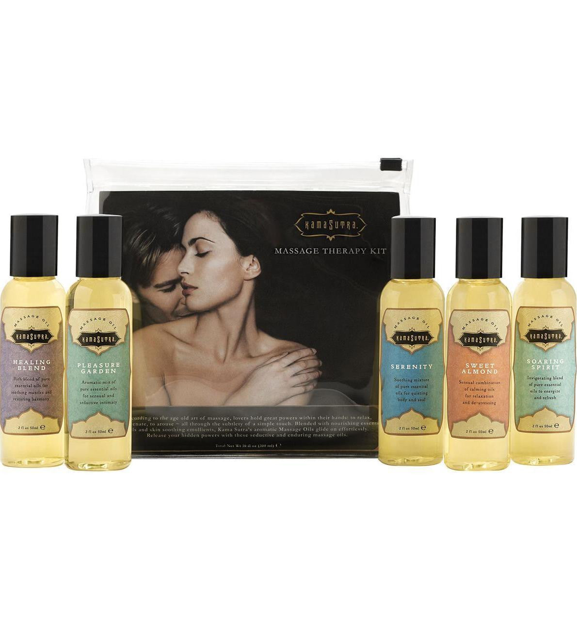 Massage Oil Set - 5 Scents