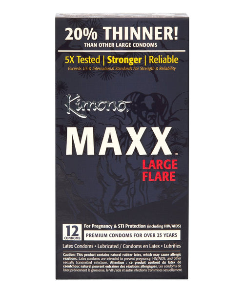 MAXX Large Flare Condoms