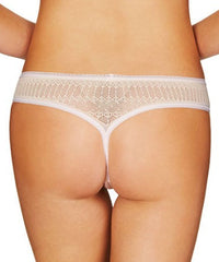 Lacey & Seamless Thong - Tan