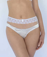 Pelican High Waisted Silk Knicker