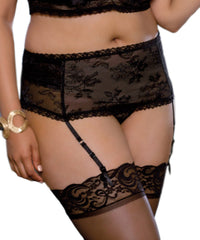Rendezvous Garter Belt - PLUS SIZE