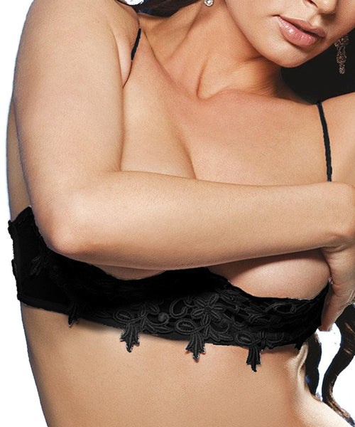 Venice Shelf Bra - Black