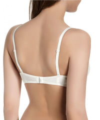 Wish Triangle Push Up Bra Ivory - 34C 36C