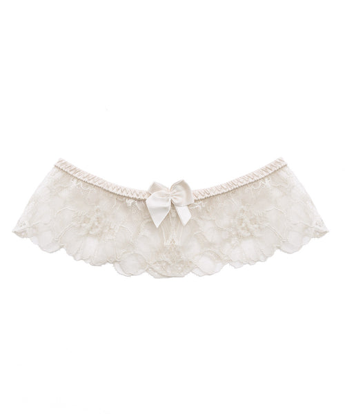 Erin Wishing Silk Bridal Garter